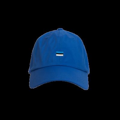 Nokamüts Estonia väikse lipuga sinine