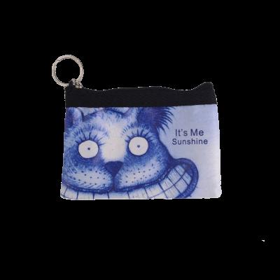 Sinine Navitrolla neljakandiline mündikott kassiga