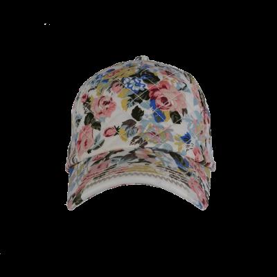 Nokamüts valge lilleline