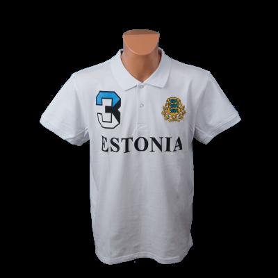 Estonia valge polo