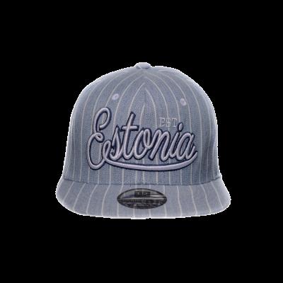 Sirge nokaga sinine Estonia nokamüts EST