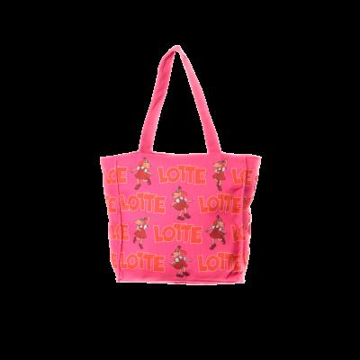 LOTTE kott 25x25 roosa
