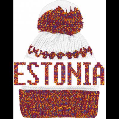 Värviline-valge Estonia pibo