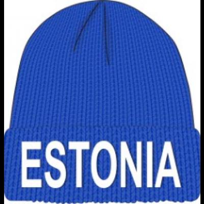 Talvemüts Estonia sinine