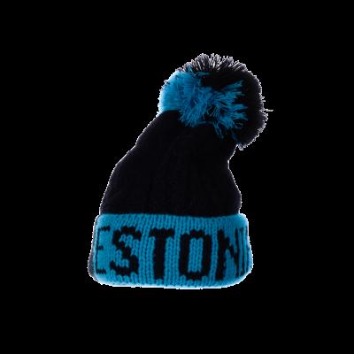Sinine-must pibo Estonia talvemüts