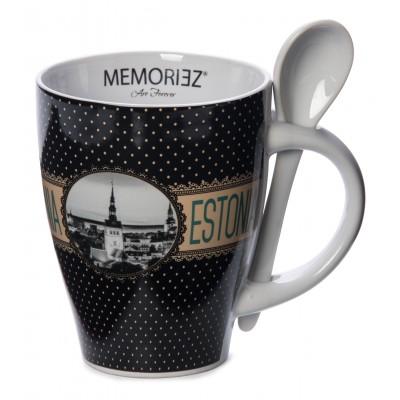 MemorieZ Estonia kruus vintage must
