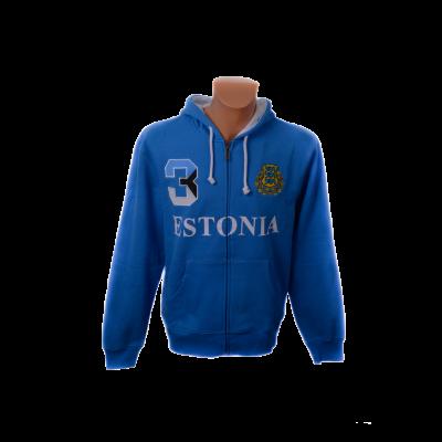 Estonia pusa kapuutsiga sinine