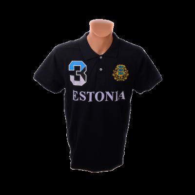 Estonia must polo