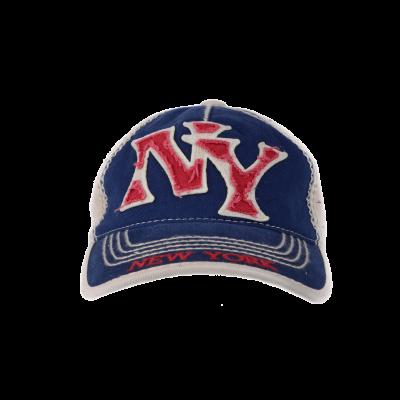 Nokamüts beež-sinine NY
