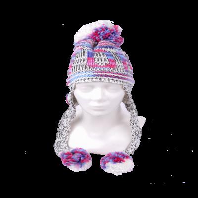 Patsidega Estonia talvemüts värviline