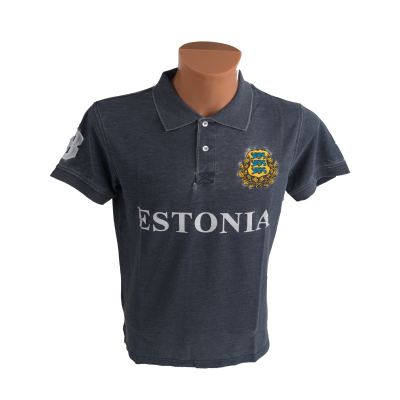 Estonia polo navy
