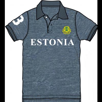 Estonia polo navy