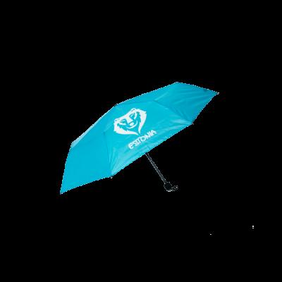 Vihmavari Estonia hundiga sinine